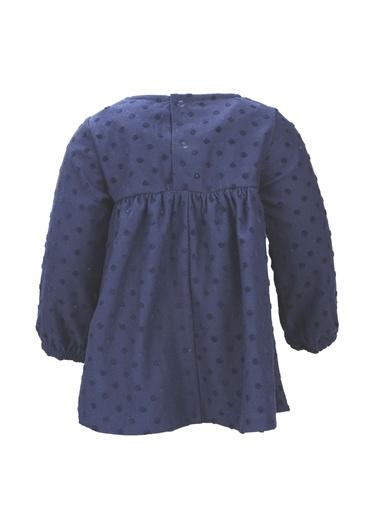 Zeyland Kabartma Puantiyeli Fiyonlu Elbise (6-24ay) Kabartma Puantiyeli Fiyonlu Elbise (6-24ay) Lacivert
